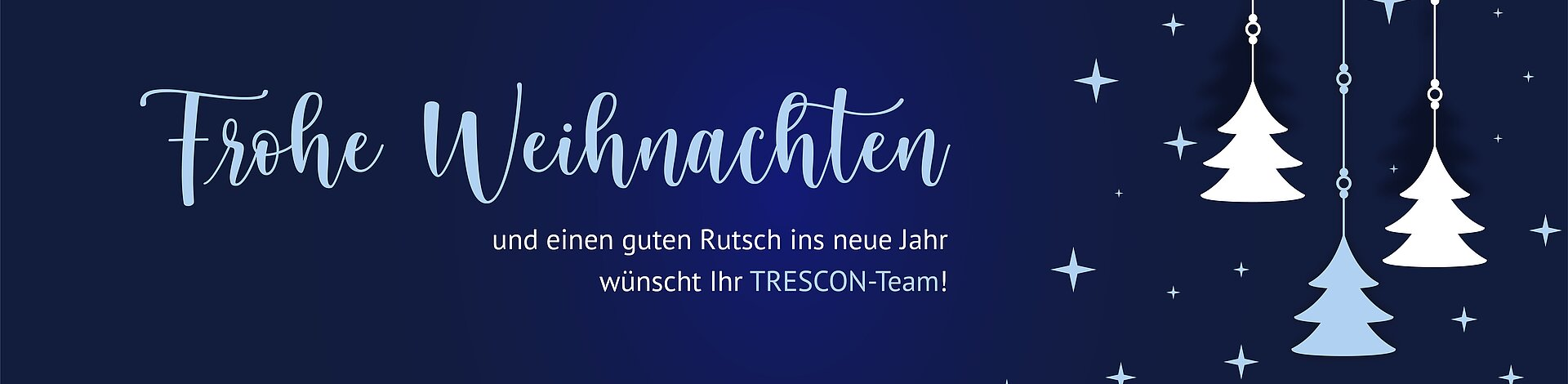 [Translate to English:] TRESCON Weihnachten